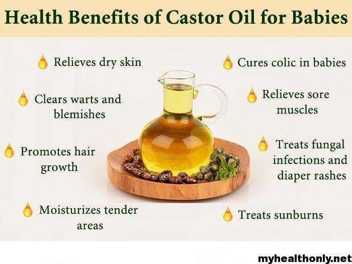 Benefits of castor oil for children