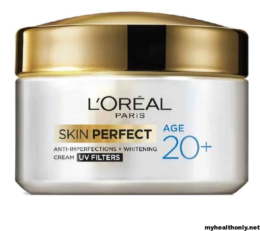 Best Skin Lightening Creams - L'Oreal Paris Skin Perfect 20+Anti-Imperfections + Whitening Cream